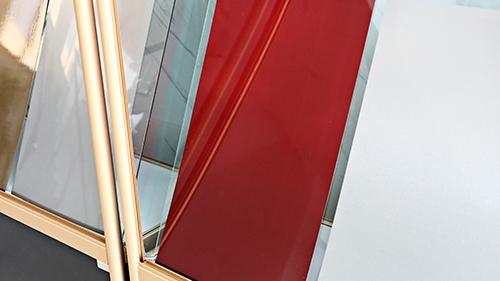红色不锈钢板材