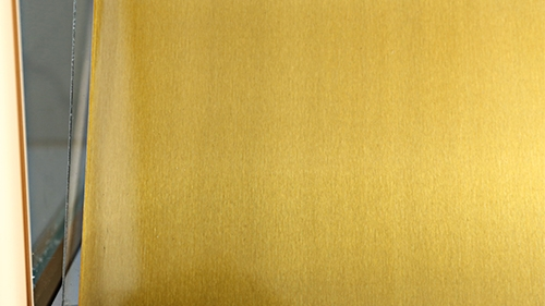彩色抗指纹钢板